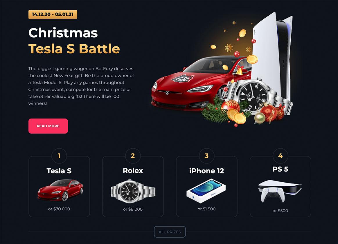 Tesla S Gewinnspiel